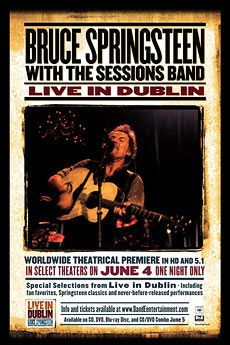Live in Dublin: Bruce Springsteen with the Sessions Band  June 5, 2007 - 5 giugno 2007