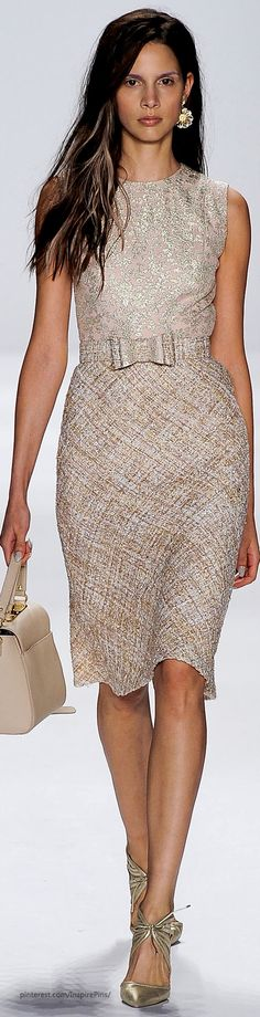 Spring 2015 Ready-to-Wear Badgley Mischka.