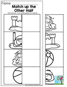 22 Summer Cut Paste Worksheets Summer Cut Paste Worksheets The youngsters can enjoy Number Worksheets, Math Worksheets, Alphabet Worksheets. Summer Preschool Activities, Cutting Activities, Preschool Curriculum, Preschool Lessons, Preschool Worksheets, Learning Activities, Kindergarten, Alphabet Worksheets, Homeschool