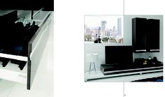 Riconoscibile il particolare della maniglia che distingue Tenes Evo da qualsiasi altro modello esistente, e rende ogni nuovo progetto unico.