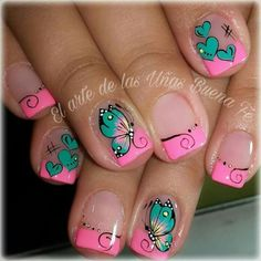 This Best Colorful and Stylish Summer Nails Ideas 21 image is part from Best Colorful and Stylish Summer Nails Design Ideas gallery and article, click read it bellow to see high resolutions quality image and another awesome image ideas. Spring Nail Art, Nail Designs Spring, Spring Nails, Summer Nails, Nail Art Designs, Autumn Nails, Gorgeous Nails, Love Nails, Fun Nails