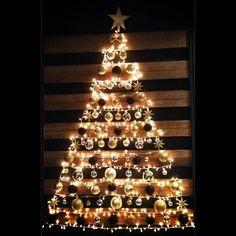 Christmas wall tree '15