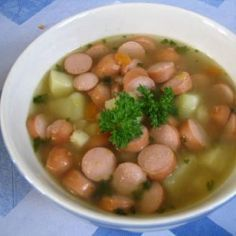 Nakkikeitto - Kotikokki.net - reseptit Easy Cooking, Food To Make, Beans, Food And Drink, Soup, Vegetables, Ethnic Recipes, Finland, Vegetable Recipes