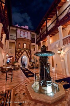 Fan photo of the courtyard at The Villa by Barton G.