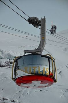 The new TITLIS Rotair in Engelberg, Central Switzerland