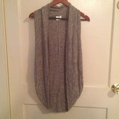 Pretty long tank sweater Tan and black. Perfect condition Sweaters