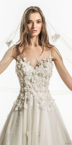 jillian 2018 bridal sleeveless illusion jewel sweetheart neckline heavily embellished bodice romantic a line wedding dress sheer button back chapel train (11) zv