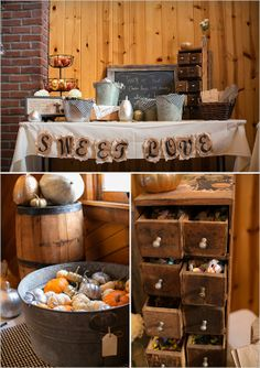 dessert table by Deco Catering