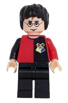 Amazon.com: Harry Potter (Tournament Uniform) - LEGO Harry Potter Figure