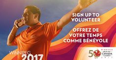 Give Your Time So They Can Shine - Volunteer for the 2017 Canada Summer Games!   The 2017 Canada Summer Games is recruiting a team of 6000 volunteers. Will you be one of them? Winnipeg Manitoba will host the Canada Summer Games July 28  August 13 2017. Featuring 16 sports over 250 events and a major cultural festival the 2017 Canada Summer Games will welcome over 4000 athletes and coaches and more than 20000 visitors. The Games are looking for enthusiastic individuals to assist in various…