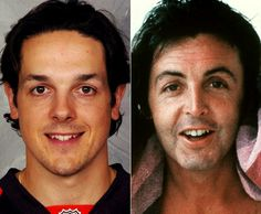 Separated at Birth? Danny Briere and Sir Paul