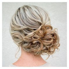 Drop Dead Gorgeous Curly Wedding Updos ❤ liked on Polyvore featuring accessories, hair accessories, hair and hairstyles
