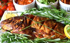 This spicy grilled fish recipe is a Nigerian style grilled fish recipe. It is Tilapia fish grilled with a rich and spicy peppe sauce