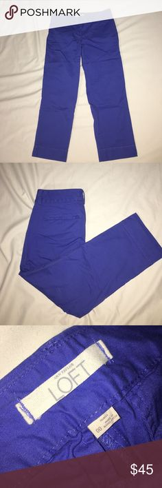 Marisa Pants Loft Used once. Excellent used condition. LOFT Pants Ankle & Cropped