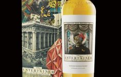 The Entertainer Whisky Packaging Induces Wonder and Visual Interest #drinking trendhunter.com