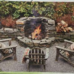 Feuerstelle diy fire pit 39 Best DIY Outdoor Fire Pit for Upgrade Yard Garden Fire Pit, Diy Fire Pit, Fire Pit Backyard, Fire Pit Wall, Outdoor Fire Pits, Cool Fire Pits, Best Fire Pit, Patio Fire Pits, Stone Fire Pits