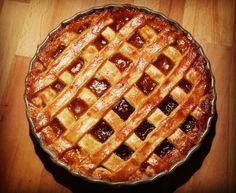 Crostata alla marmellata di albicocche Pie, Desserts, Food, Torte, Tailgate Desserts, Pastel, Meal, Dessert, Eten