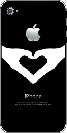 Great gift idea for Valentine's Day - tattoo sticker for iPhone- $19.99