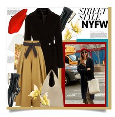 """""""Win It!  NYFW: Street Style"""" by helenaymangual ❤ liked on Polyvore featuring Gucci, Coliàc Martina Grasselli, Karen Millen, Temperley London, Maison Margiela, contestentry and nyfwstreetstyle"""