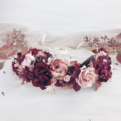 A personal favorite from my Etsy shop https://www.etsy.com/listing/538493810/fall-bridal-flower-crown-fall-wedding