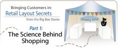 Bringing Customers In: Retail Layout Secrets from the Big Box Stores - Part 1: The Science Behind Shopping - Fire Mountain Gems and Beads