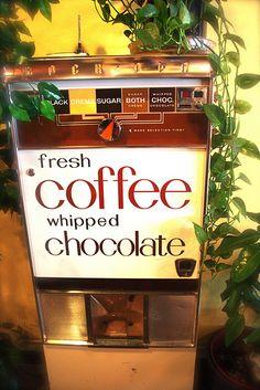 vintage coffee machine by bunbunlife, via Flickr