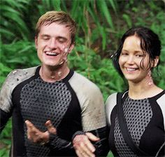 Josh and Jen BTS Catching Fire
