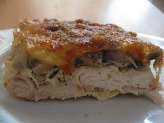 Danie kurczakowe Lasagna, Food And Drink, Cooking Recipes, Chicken, Ethnic Recipes, Casserole, Meat, Recipies, Chef Recipes