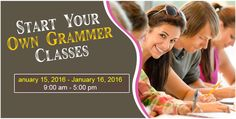 START YOUR OWN GRAMMER CLASSES IN HYDERABAD  Barefoot #Learning #Experience presents Start Your Own #GrammerClasses by Getting Certified in 2 days