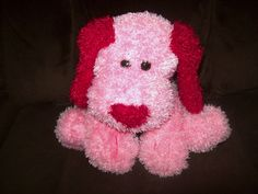 valentines day stuffed bulldog
