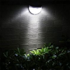 Waterproof LED Solar Light Outdoor Wall Power Lamp For Gardens