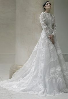 Javier Saiach Spring/Summer 2015 Haute Couture. Wedding Gown Gorgeous   ZsaZsa Bellagio - Like No Other