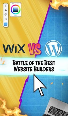 Wix and WordPress are two of the best website builders around. That's what we cover in today's Wix vs WordPress battle royale! Website Creator, Website Web, Build Your Own Website, Software, Apps, Web Design Tips, Building A Website, Website Builders, Cool Websites