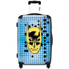 iKase 'Blue Batman' 24-inch Fashion Hardside Spinner Suitcase