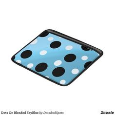 Dots On Blended SkyBlue Sleeves For MacBook Air