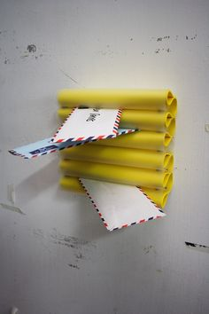 Good use of materials. WEICHE WU: Letter Clip