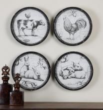 @uttermost  55010 - Farmer's Choice Art S/4
