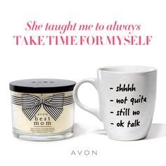 Do not forget Mom on Mother's Day. Relaxing candles, jewelry, a new outfit.shop my online store for your mother's day needs. Mothers Day May, Great Mothers Day Gifts, Mother Day Gifts, Avon Products, Shops, Perfect Mother's Day Gift, Me Time, Mom Mug, Best Mom