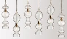 FLODEAU.COM - Handblown Glass Lighting by Rothschild Bickers 14