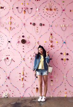 poshclassymom-museum-of-ice-cream-los-angeles-fun-things-in-la-zara-top-gucci-sneakers-celine-box-bag-47