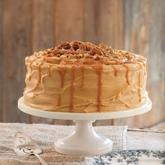 Caramel Layer Cake Recipe - Taste of the South