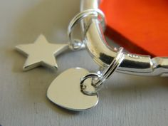 Sterling Silver Shape Charms