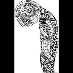 Full Sleeve Tattoo Designs On Paper