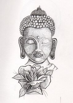 Dotwork Buddha  by ltfxx.deviantart.com on @DeviantArt