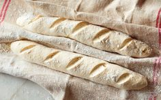 Spelt baguettes recipe - By FOOD TO LOVE, Spelt wheat produces beautiful artisan-quality bread with a razor-sharp crust and delicate crumb.