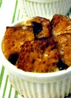 Honey Cake Bread Pudding