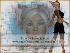 Angie's Free Poser Tubes: Tubes Fantasy V4