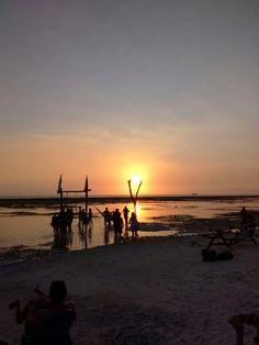 Sunset at Gili Trawangan, Lombok, West Nusa Tenggara, Indonesia