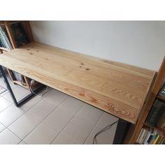 table de salle à manger style industriel acier et bois | meubles ...