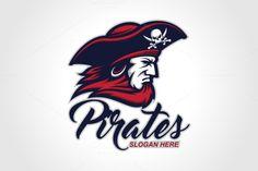 Pirates Logo V.2 by herulogo on @creativemarket
